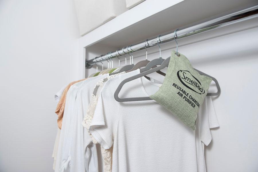 SmellRid™ Reusable Closet Smell Eliminator U0026 Freshener Pouch: SmellRid.com