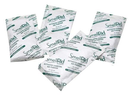 SmellRid® Reusable Charcoal Smell Absorber - 10 Medium Packs