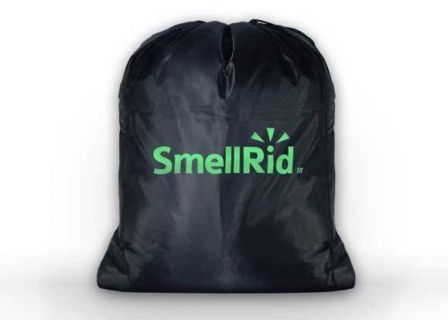 Smellrid Reusable Activated Charcoal Odor Proof Bag 24 X 28